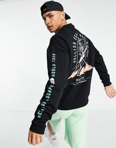 Czarna bluza Asos w młodzieżowym stylu