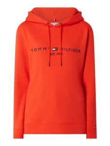 Pomarańczowa bluza Tommy Hilfiger z bawełny
