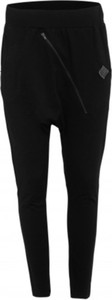 Czarne spodnie Look made with love z dżerseju