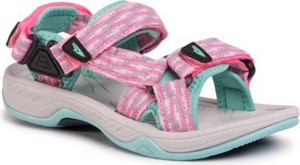 Różowe buty dziecięce letnie Sprandi