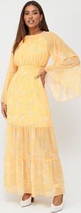 Żółta sukienka V by Very