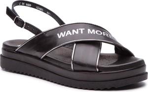 Sandały Carinii ze skóry w stylu casual