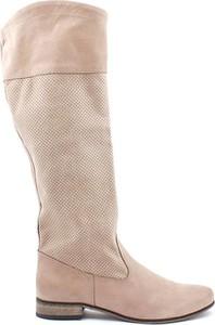 Kozaki Zapato przed kolano w stylu casual