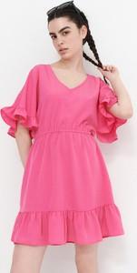Sukienka House mini w stylu casual z długim rękawem