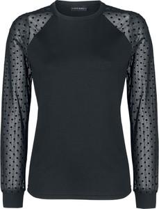 Czarna bluzka Vive Maria z okrągłym dekoltem