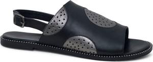 Sandały Lanqier w stylu casual z klamrami z płaską podeszwą