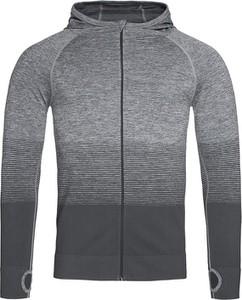 Sweter Stedman w stylu casual ze stójką z tkaniny