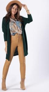 Zielony sweter Moda Dla Ciebie z wełny