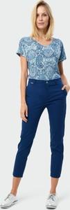 Niebieskie spodnie Greenpoint z bawełny