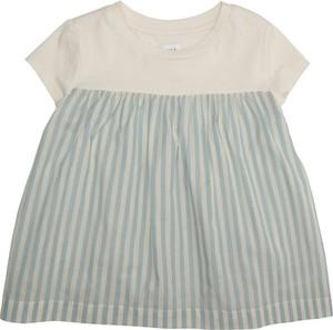 Niebieska bluzka dziecięca Gap z krótkim rękawem