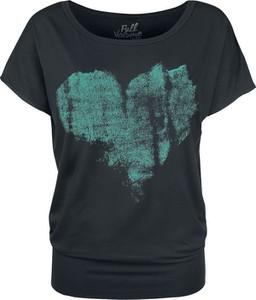 Czarny t-shirt Full Volume By Emp z krótkim rękawem