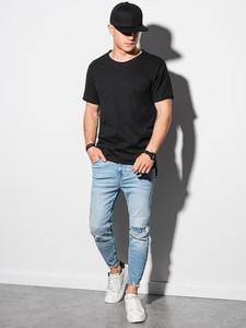 T-shirt Ombre z bawełny w stylu casual