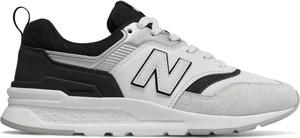 Buty sportowe New Balance z płaską podeszwą sznurowane z zamszu