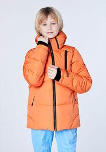 Pomarańczowa kurtka dziecięca Chiemsee