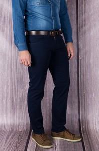 Granatowe jeansy Vertus