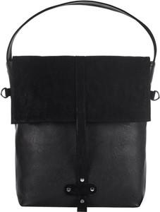fe2f379e6065d torebka shopper bag czarna - stylowo i modnie z Allani