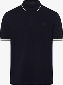 Granatowa koszulka polo Fred Perry z krótkim rękawem