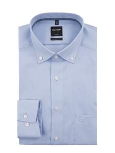 Koszula Olymp z tkaniny z klasycznym kołnierzykiem