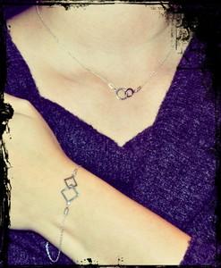 Le Ru Bijou Srebrny zestaw biżuterii Always Together