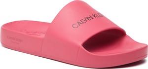 Różowe buty letnie męskie Calvin Klein