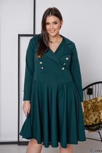 Sukienka tono.sklep.pl z długim rękawem w stylu casual