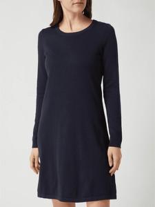 Sukienka Esprit prosta z bawełny z długim rękawem