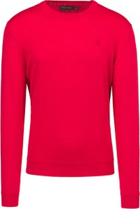 Czerwona koszulka polo POLO RALPH LAUREN w stylu casual