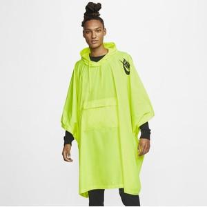Ponczo festiwalowe z tkaniny Nike Sportswear - Żółć