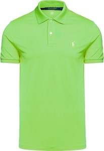 Zielony t-shirt POLO RALPH LAUREN z tkaniny