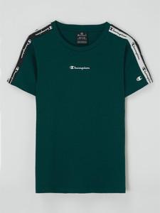 Zielona koszulka dziecięca Champion dla chłopców