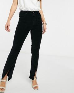 Czarne jeansy Asos w stylu casual