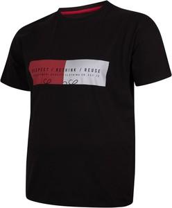 T-shirt Bigsize w młodzieżowym stylu z bawełny z krótkim rękawem