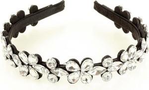 Gk-Style Luksusowa ozdoba opaska na włosy diadem tiara srebrny MAZZINI