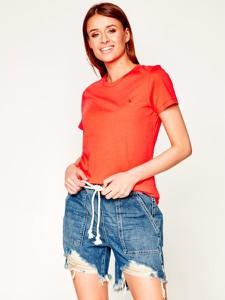 T-shirt Tommy Hilfiger z okrągłym dekoltem z krótkim rękawem w stylu casual
