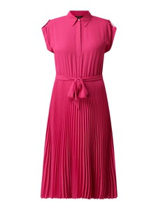 Różowa sukienka Ralph Lauren z krótkim rękawem
