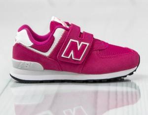 Czerwone buty dziecięce New Balance, kolekcja jesień 2019
