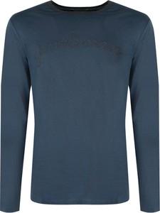 T-shirt ubierzsie.com z bawełny z długim rękawem