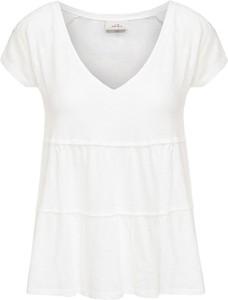 T-shirt Deha z krótkim rękawem z bawełny