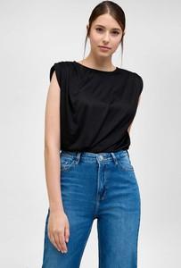 Czarna bluzka ORSAY z okrągłym dekoltem