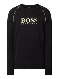 Czarna bluza Hugo Boss z bawełny w młodzieżowym stylu