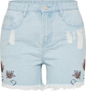 Szorty Vila z jeansu