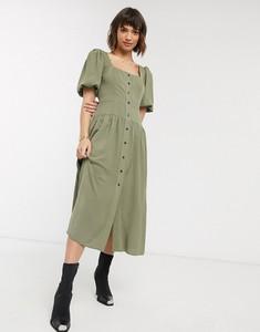 Zielona sukienka Asos Design midi