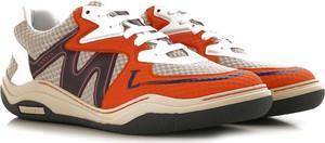 Buty sportowe Lanvin sznurowane w sportowym stylu