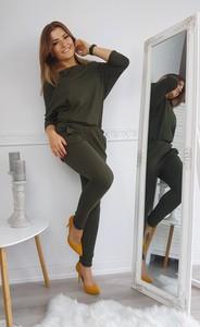 Zielony kombinezon made2wear z długimi nogawkami