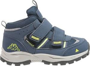 Niebieskie buty trekkingowe dziecięce Kappa