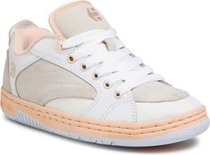 Buty sportowe ETNIES sznurowane z płaską podeszwą z zamszu