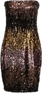 Sukienka bonprix BODYFLIRT boutique w stylu glamour bez rękawów