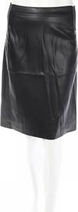 Spódnica Vero Moda midi w rockowym stylu ze skóry