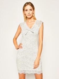 Sukienka Guess mini z dekoltem w kształcie litery v bez rękawów