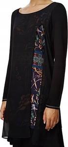 Sukienka Desigual z długim rękawem mini